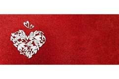 Valentines day banner background copy space Product Image 1
