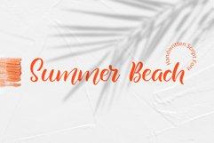 Summer Beach Handwriting Font Product Image 2