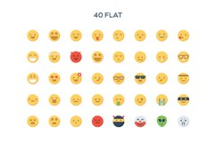 Simple Emoticons in 2 styles Product Image 2