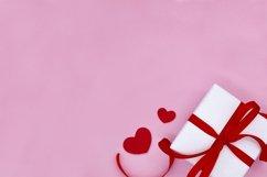 Mock up Valentine's day. Gift box. Flat lay. Love mockup. Product Image 1