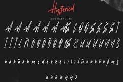 Hysterical   Brush Font Product Image 3