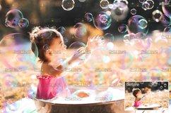 30 Photoshop overlay Bubble overlays, Soap bubbles Product Image 3