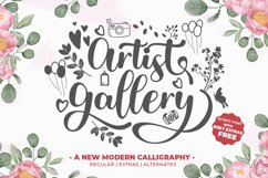 Artist Gallery - With Extras Product Image 1