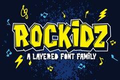 Rockidz // Layered Font Family Product Image 1