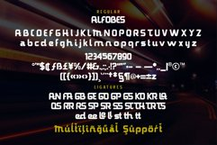 Alfobes typeface Product Image 6