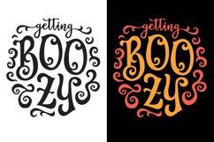 Halloween SVG, Boozy SVG, Ghost SVG, Halloween Drinking SVG Product Image 3