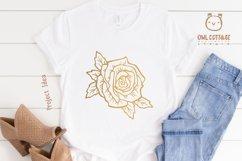 Rose SVG, rose PNG, Wedding flowers, Flowers SVG Product Image 4
