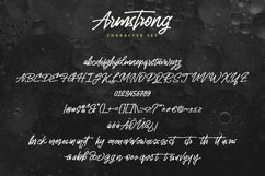 Armstrong - Monoline Handwriting Script Font Product Image 5