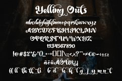 Yelling Outs - Boldy Handwriting Script Font Product Image 4