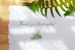 Forest fern digital paper, summer scrap book paper 12x12 Product Image 6
