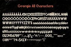 Georgio | Retro Typeface Product Image 5