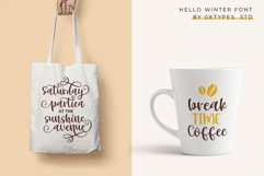 Hello Winter - A Bouncy Handwritten Script Font Product Image 5