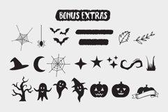 Black Hunter - Spooky Halloween font Product Image 6