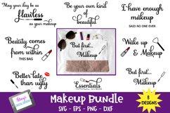 Makeup Bundle - 8 Makeup Bag SVG Designs Product Image 1
