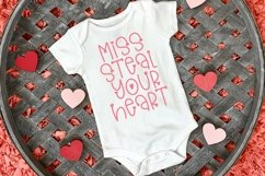Web Font Blow A Kiss - A Hand-Lettered Valentine's Day Font Product Image 3
