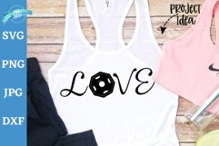 Love with free weigts svg, Workout tank, Workout shirt, gym Product Image 1