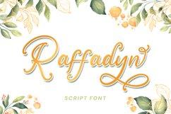 Raffadyn - Wedding Font Product Image 1