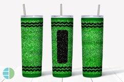 Skinny Tumbler Sublimation Design - Glitter Crayon Tumblers Product Image 4