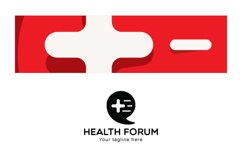 Health Forum - Call Out Iconic Symbol Stock Logo Template Product Image 3