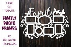 Family Photo Frame, Frame for Photos, Family Photoframe Product Image 1