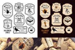 Halloween Bottle Labels Product Image 2