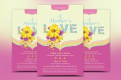 Mothers Love Church Flyer Template Product Image 2