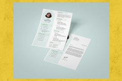 Modern and Minimalist Resume Template CV Vol.2 Product Image 2