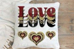 Valentine Sublimation png Love Plaid Cheetah Hearts Retro Product Image 3