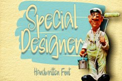 Special Designer | A Cute Handwritten Font Product Image 1