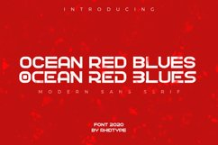 OCEAN RED BLUES Product Image 1