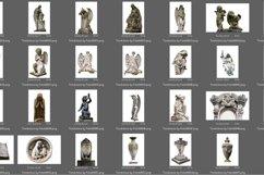 55 Tombstone Photo Overlays Product Image 3