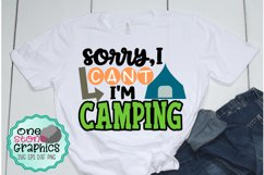 sorry I can't i'm camping svg,camping svg,camping svgs,kids Product Image 1