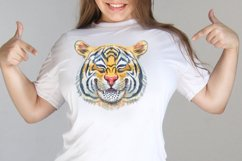 Watercolor tiger portraits Product Image 3