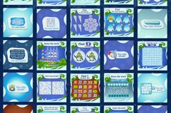 Social media post with a New Year and Christmas games Product Image 2