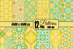 12 Summer All Over Seamless Patterns Product Image 1