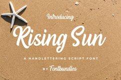 Web Font Rising Sun Product Image 1