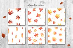 Hello Autumn watercolor collection Product Image 4