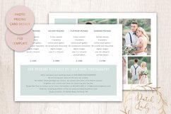 PSD Photo Price Card Template - Design #23 Product Image 2
