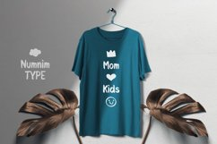 Kids Cute- Child font with doodle glyphs Product Image 6