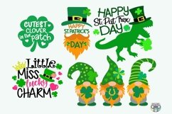 St Patrick's Day svg, Bundle svg, Clover svg, Cricut Files Product Image 4