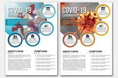 Covid-19 Flyer Template Product Image 1