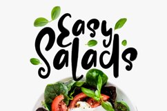 Easy Salads Typeface Product Image 1