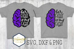 Epilepsy Awareness Seizure SVG PNG DXF Cutting File Fight Product Image 1