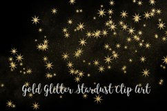 Gold Glitter Stardust, Transparent PNG Product Image 5