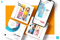 Colorful fashion Instagram 18 Posts Template | CANVA Product Image 6