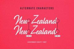 Ackerman Handlettered Script Font Product Image 7