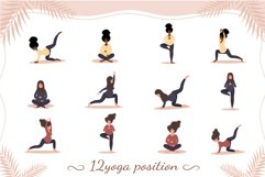 PREGNANT YOGA vector bundle Product Image 2