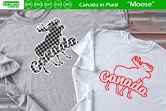 Canada in Plaid - Moose Product Image 4