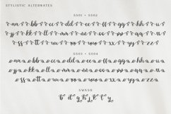 Brigtia Lovely Swash Font Product Image 6