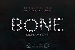 Bone Halloween Font Product Image 1